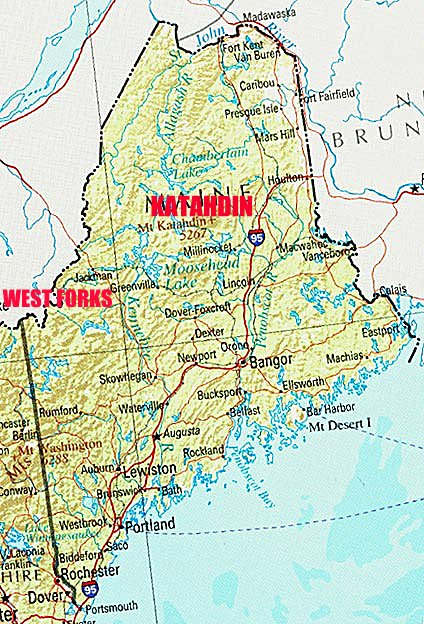 the forks maine map Maine Whitewater Rafting the forks maine map